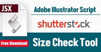 Shutterstock size check script
