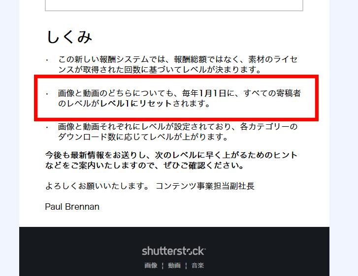Shutterstock集計期間問題