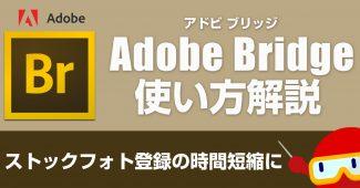 Adobe Bridgeの使い方解説